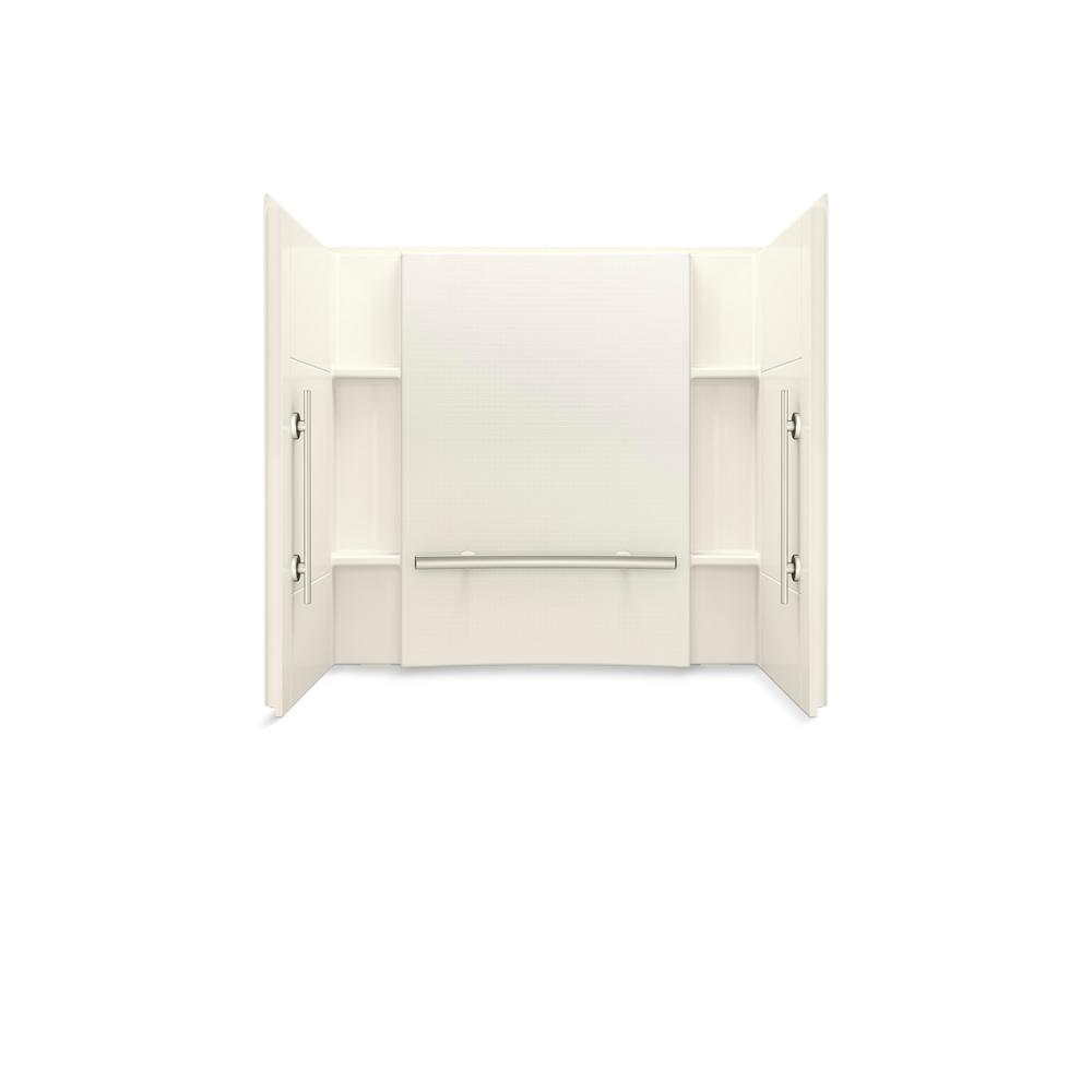 Accord 60 in. W x 55.125 in. H 3-Piece Direct-to-Stud Alcove