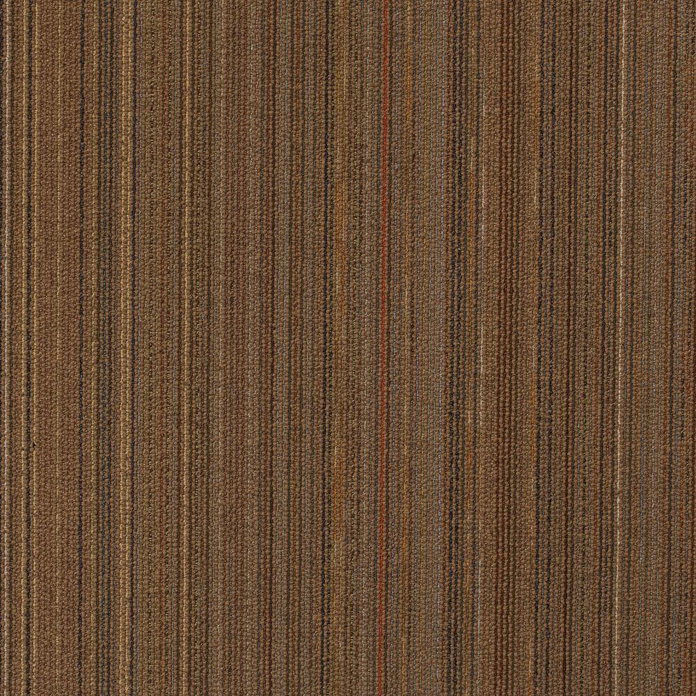 Assembler Hazelnut Loop 24 in. x 24 in. Modular Carpet Tile Kit (18 Tiles/Case)