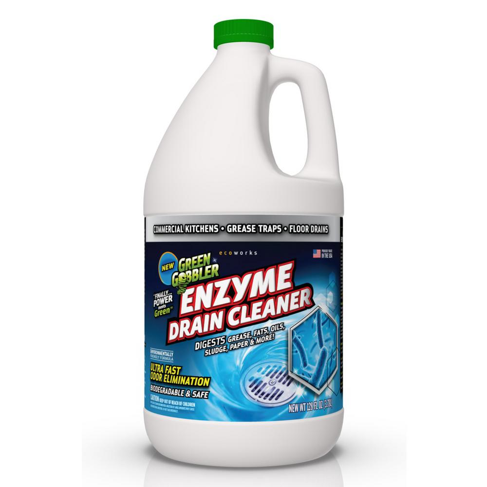 green gobbler 1 gal enzyme drain cleaner ggedc128 the home depot