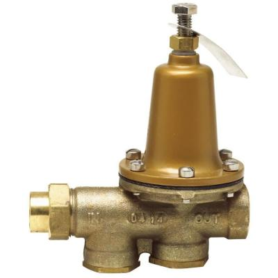 1/2 in. Brass FPT x FPT Pressure Reducing Valve