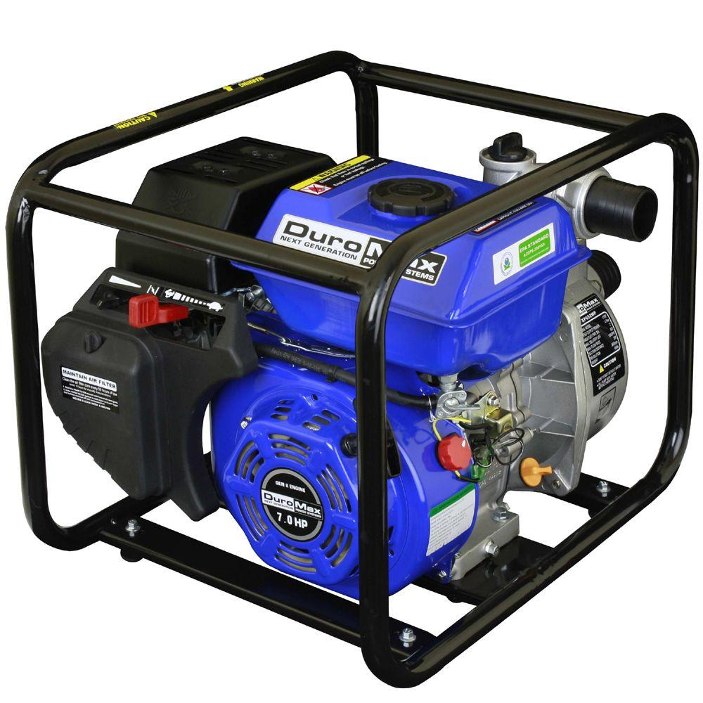 7 HP 2 in. Portable Utility Gas Powered Water Pump
