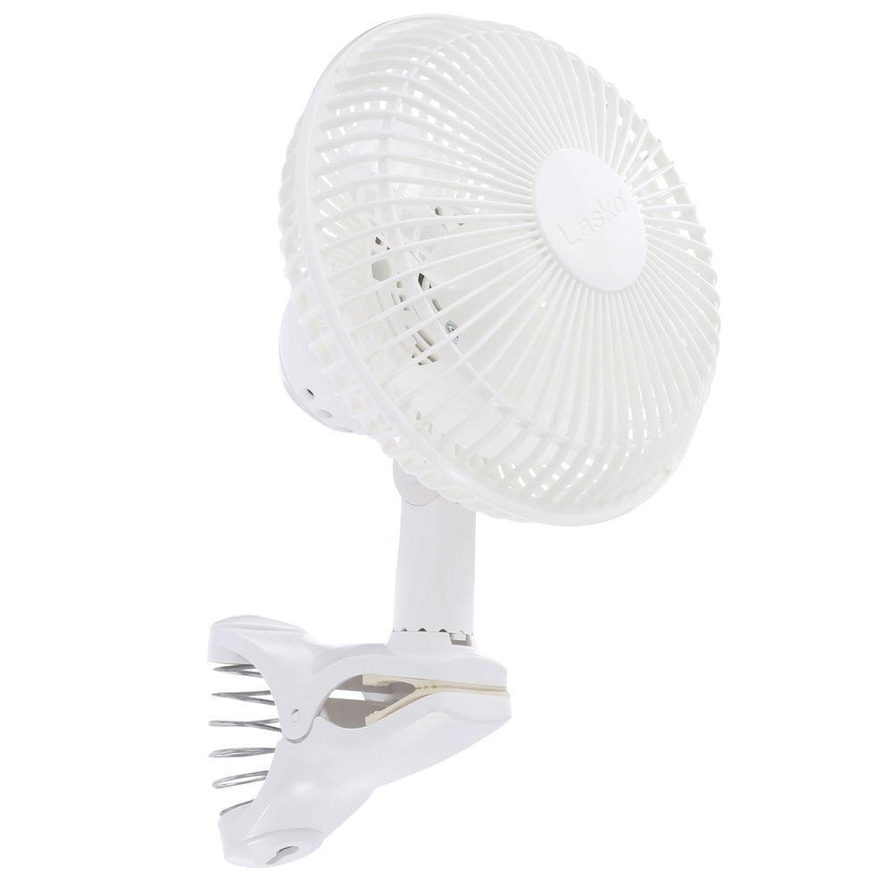 Lasko 6 in. 2-Speed Clip Fan