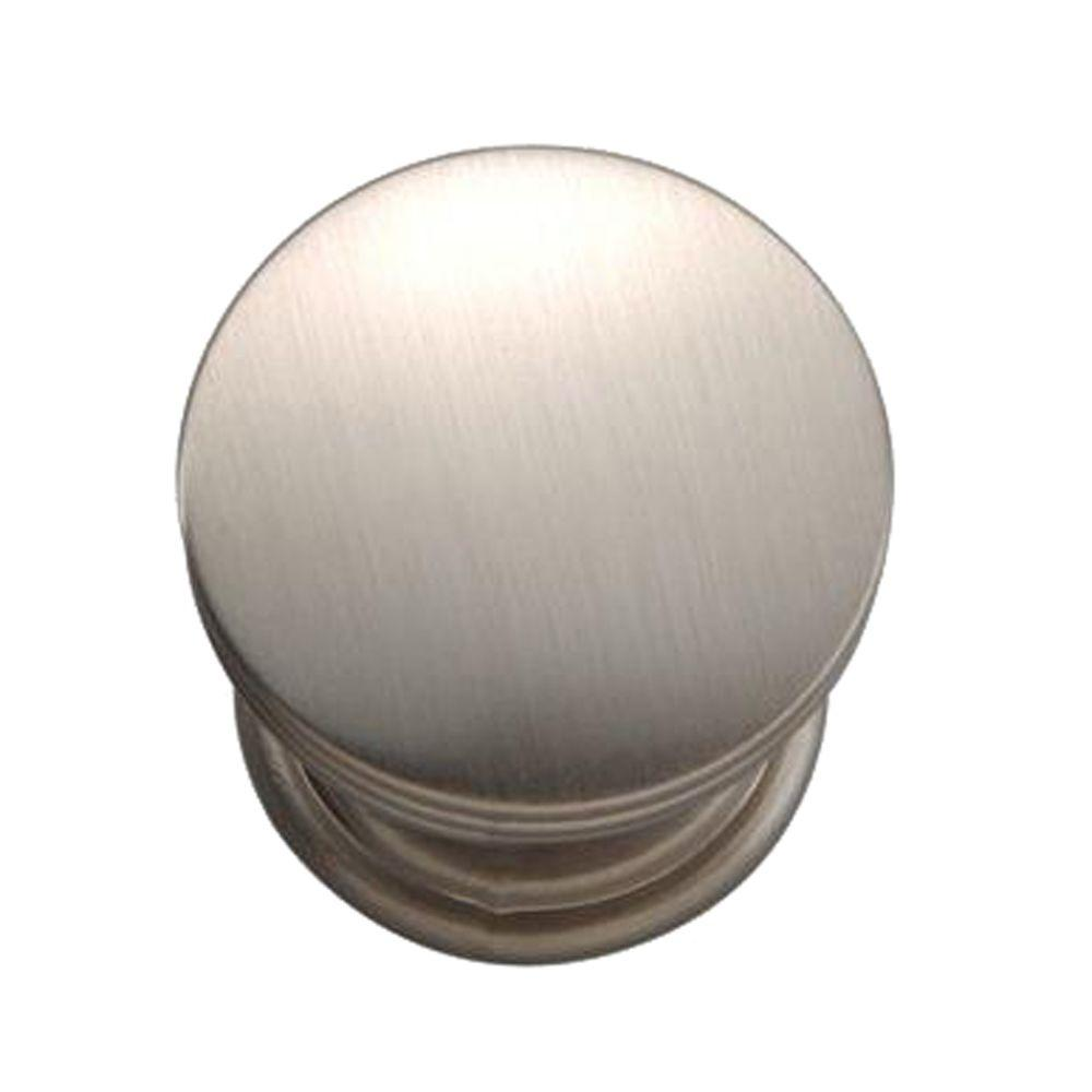 Hickory Hardware American Diner 1 in. Stainless Steel Cabinet Knob