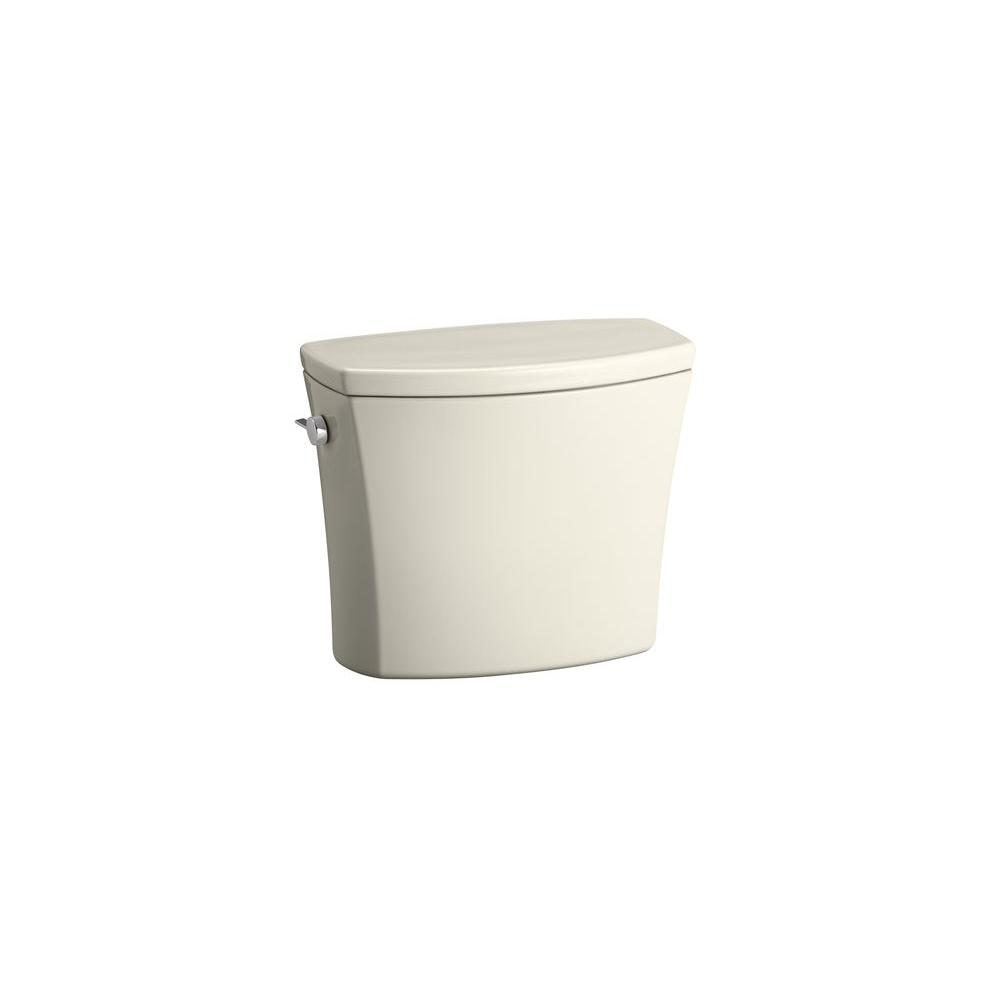 KOHLER Kelston 1.6 GPF Single Flush Toilet Tank Only with AquaPiston Flushing Technology in Biscuit