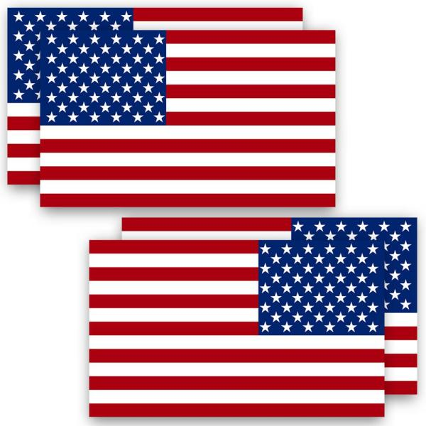 """USA Patriotic Polyester Plastic Stick Flags 8/"""" x 10/"""" Lot of 96 Pieces"""
