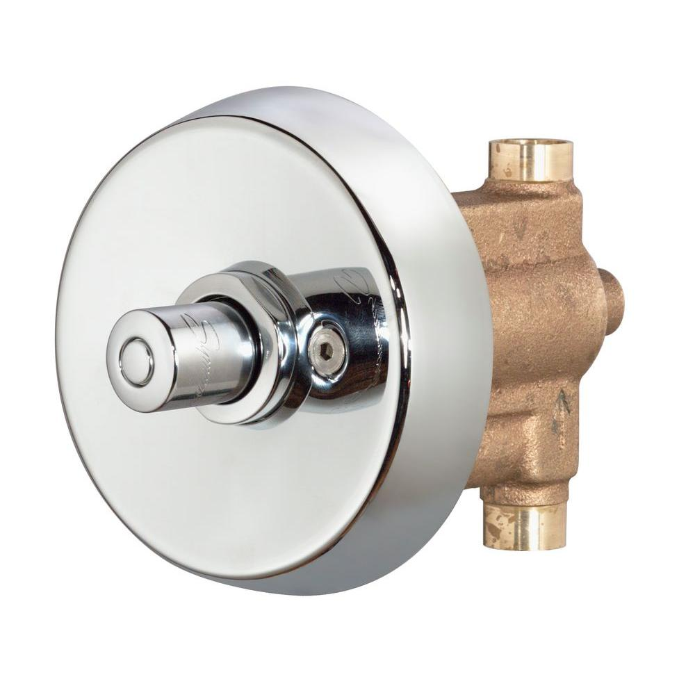 Symmons Shower Off Valve 4 420 The Home Depot