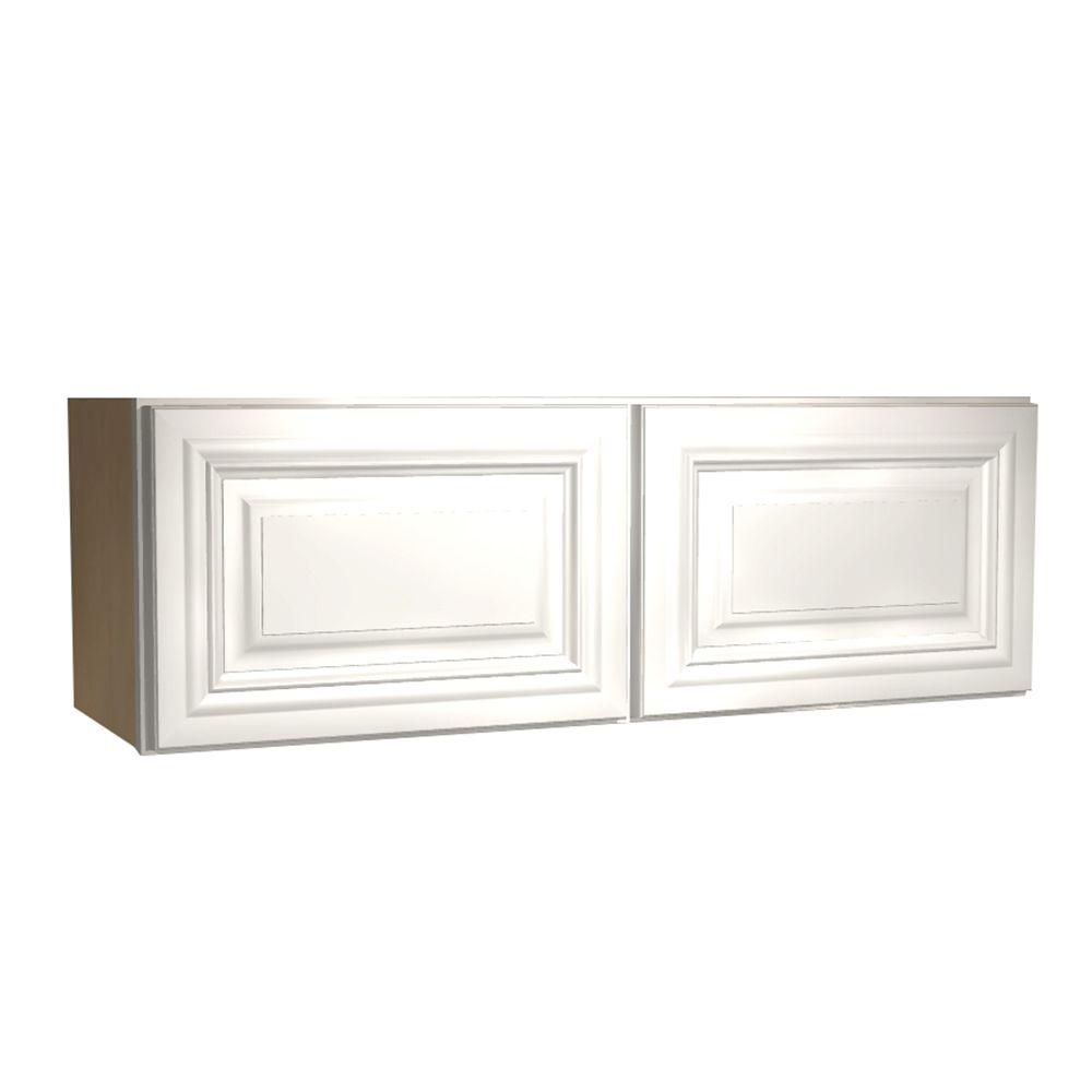 36x12x12 in. Coventry Assembled Wall Cabinet with 2 Doors in Pacific