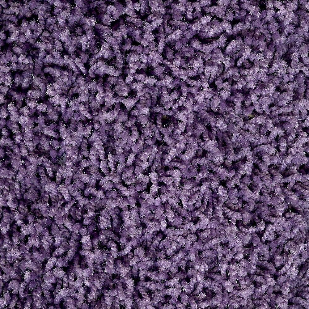 Simply Seamless Pop Culture 11 Plum Fabulous 24 in. x 24 in. Residential Carpet Tiles (10-Case)