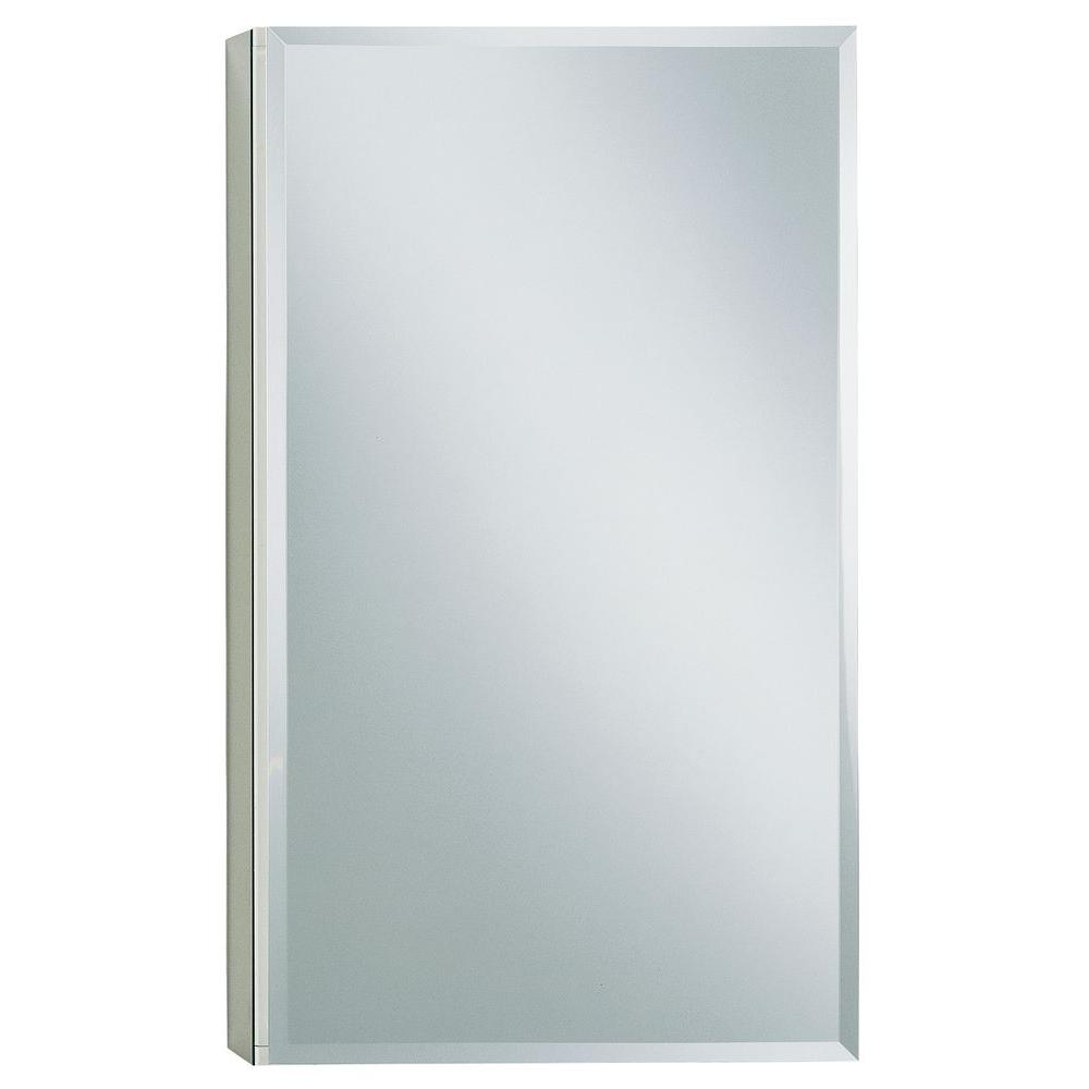 15 in. W x 26 in. H Single Door Recessed or