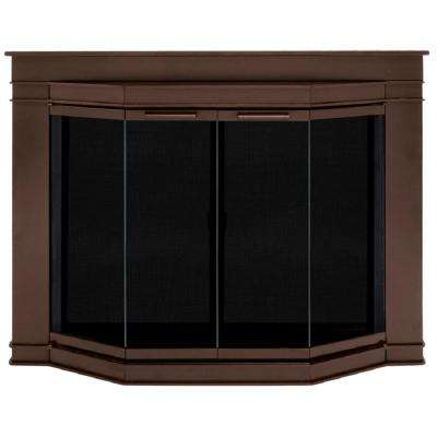 Grantham Medium Glass Fireplace Doors