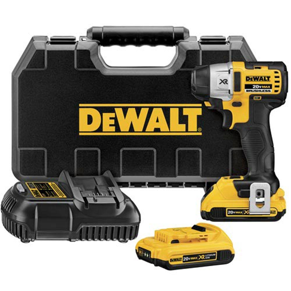 DEWALT 20-Volt Max XR Lithium-Ion Brushless 3-Speed 1/4 in. Cordless Impact Driver