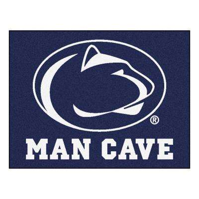 Penn State Blue Man Cave 3 ft. x 4 ft. Area Rug