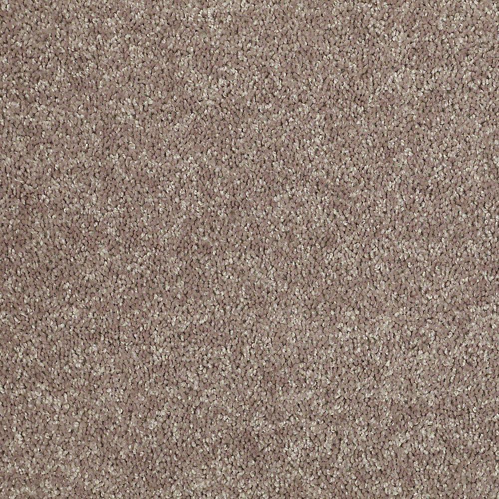 Carpet Sample - Palmdale I 12 - In Color Mocha Nut 8 in. x 8 in.