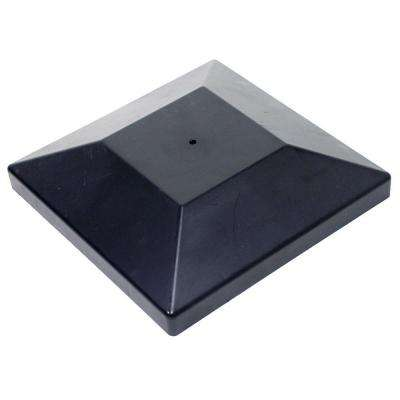 DPPC Black Decorative Post Cover for 6 in. x 6 in. Post