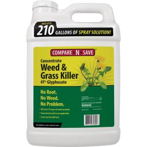 Compare-N-Save 2 5 Gal  Grass and Weed Killer Glyphosate Concentrate-75325  - The Home Depot