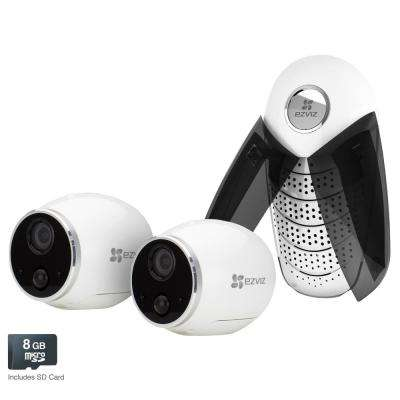 Mini Trooper Security Wireless Standard Surveillance Camera System Wireless Cameras Audio Indoor or Outdoor Night Vision