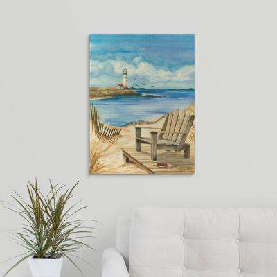 """Lighthouse View I"" by Jay Throckmorton Canvas Wall Art"