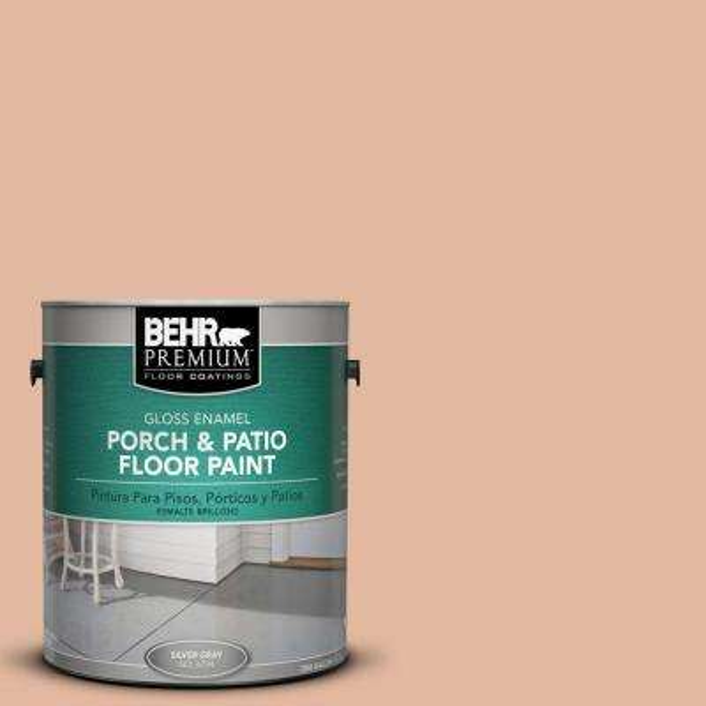 1 gal. #PFC-06 Georgia Peach Gloss Interior/Exterior Porch and Patio Floor Paint