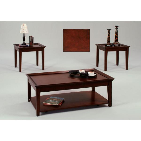 Progressive Furniture Encore Tobacco Cocktail Table With Casters And