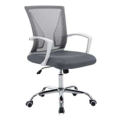 Chartwell Office Chair in White/Grey