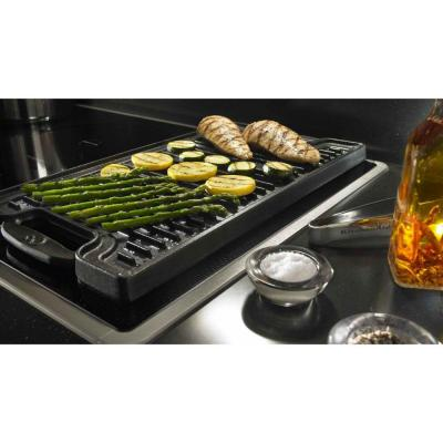 Architect Series II 36 in. Smooth Surface Induction Cooktop in Black with 5 Elements Including Bridge and Dual Elements
