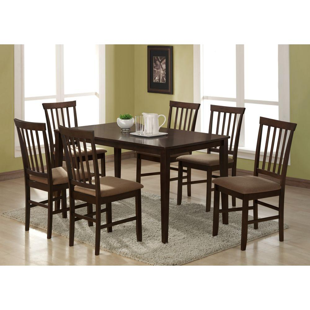 fabric dining room chairs. Baxton Studio Tiffany Beige Fabric Upholstered Dining Chairs  Set of 2 2PC 3927 HD The Home Depot