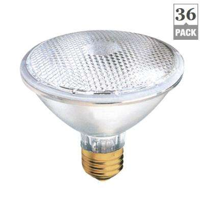 39-Watt PAR30 Reflector E26 Base Clear Halogen Light Bulbs (36-Pack)