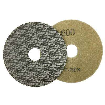 4 in. 600-Grit Electroplated Diamond Polishing Pads