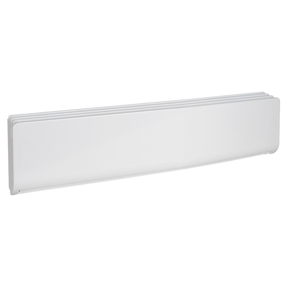 Stelpro Bella 67 3 16 In 1500 Watt 240 Volt High End Electric Baseboard Heater In White Aba1502w The Home Depot