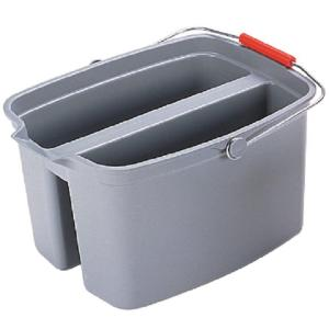 Rubbermaid Commercial Products Brute 19 Qt. Gray Double Pail by Rubbermaid Commercial Products