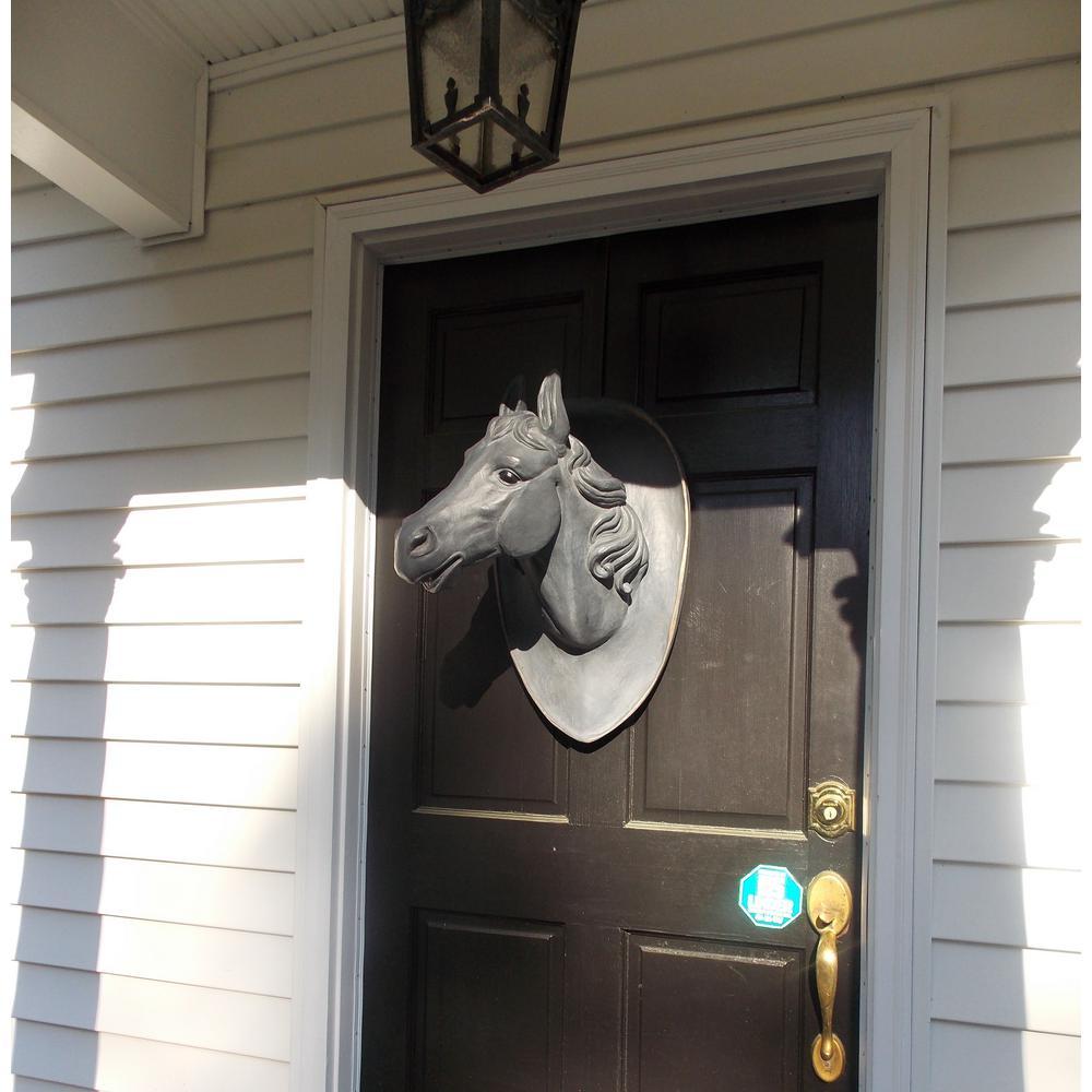 Horse Head on Plaque