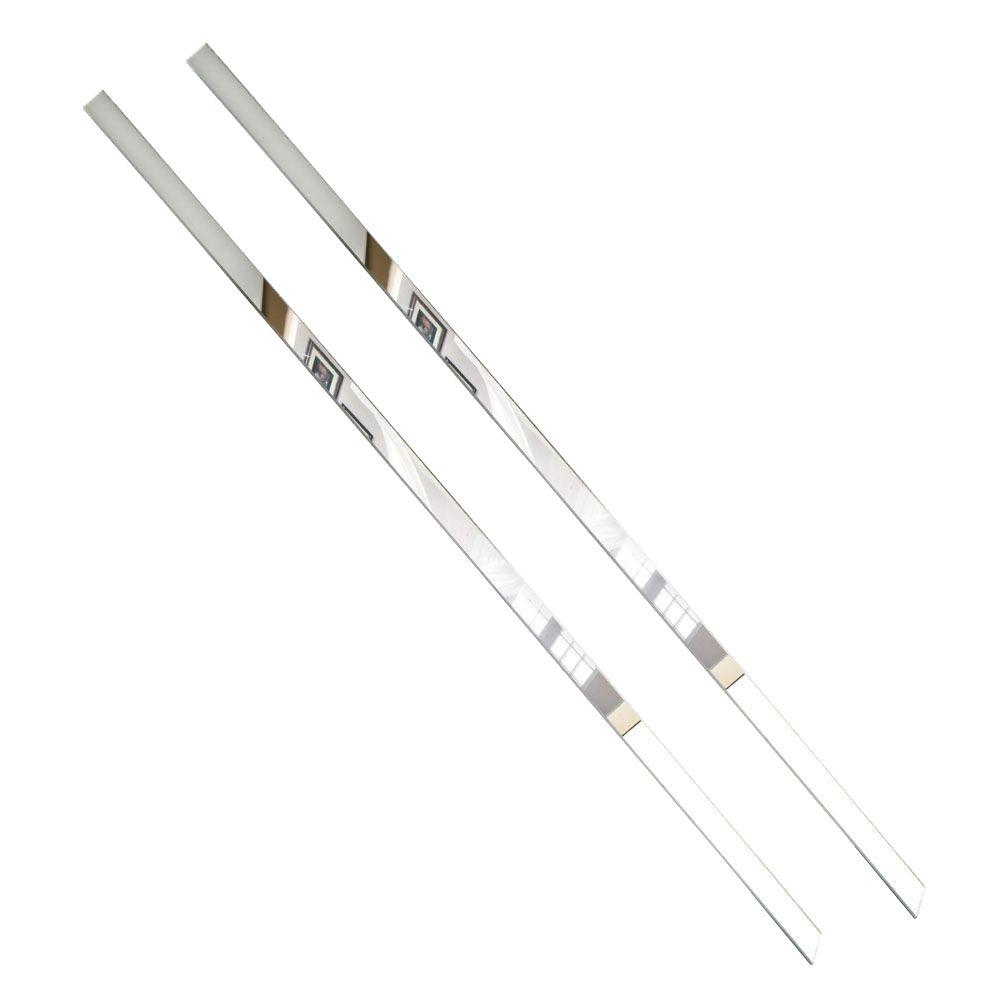 MirrEdge 36 in. Acrylic Mirror Strips (2-Pack)