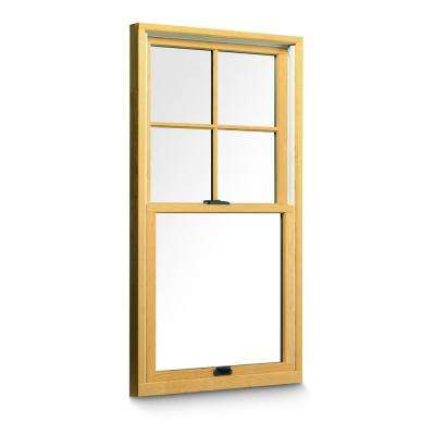 Installed Wood Double Hung Windows