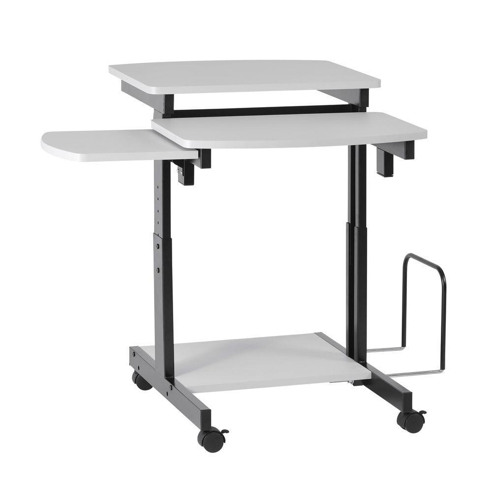 buddy products capri grey desk