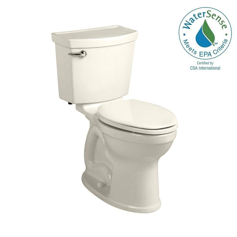 Champion 4 HET Tall Height 2-piece 1.28 GPF Single Flush High-Efficiency