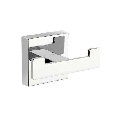 Flexi-Fix Cheadle Double Robe Hook in Chrome