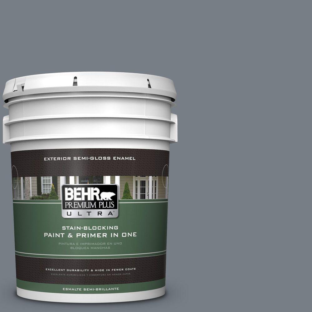 5-gal. #BNC-39 Peak Point Semi-Gloss Enamel Exterior Paint