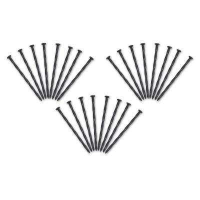 8 in anchoring spike pack 24 count - Metal Garden Stakes