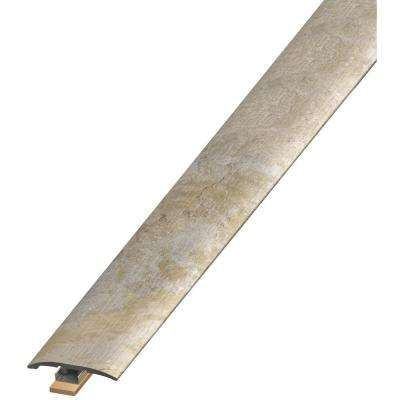 Sannita Neutral 7 mm Thick x 2 in. Wide x 94 in. Length Coordinating Vinyl 3-in-1 Molding