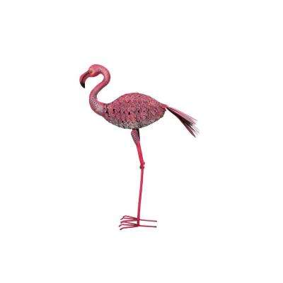 19.69 in. x 7.28 in. x 33.46 in. Flamingo Bird Stake