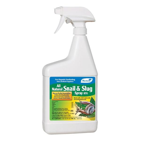 32 oz. All Natural Snail and Slug Spray