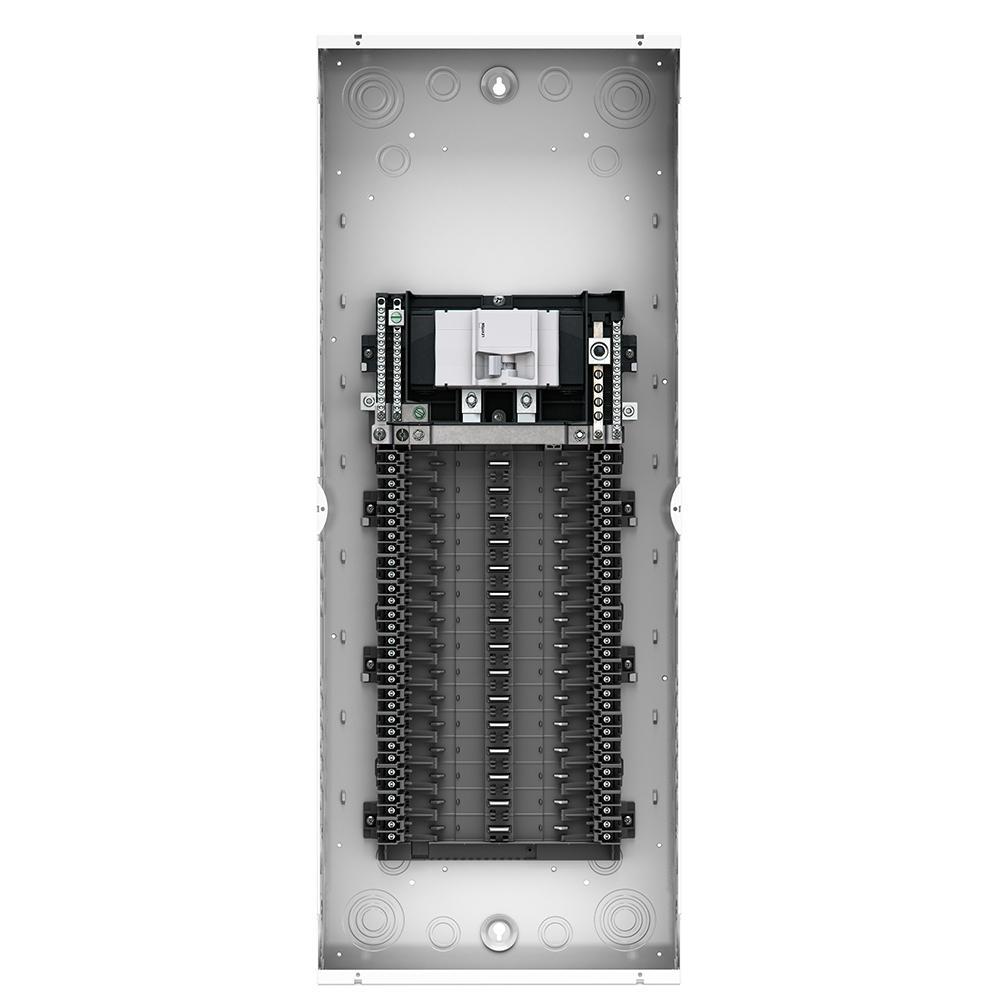 100 Amp 30-Space 30-Circuit Indoor Load Center Enclosure with Main Circuit Breaker