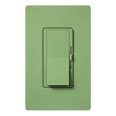 Diva Dimmer for Incandescent and Halogen, 600-Watt, Single-Pole or 3-Way, Greenbriar