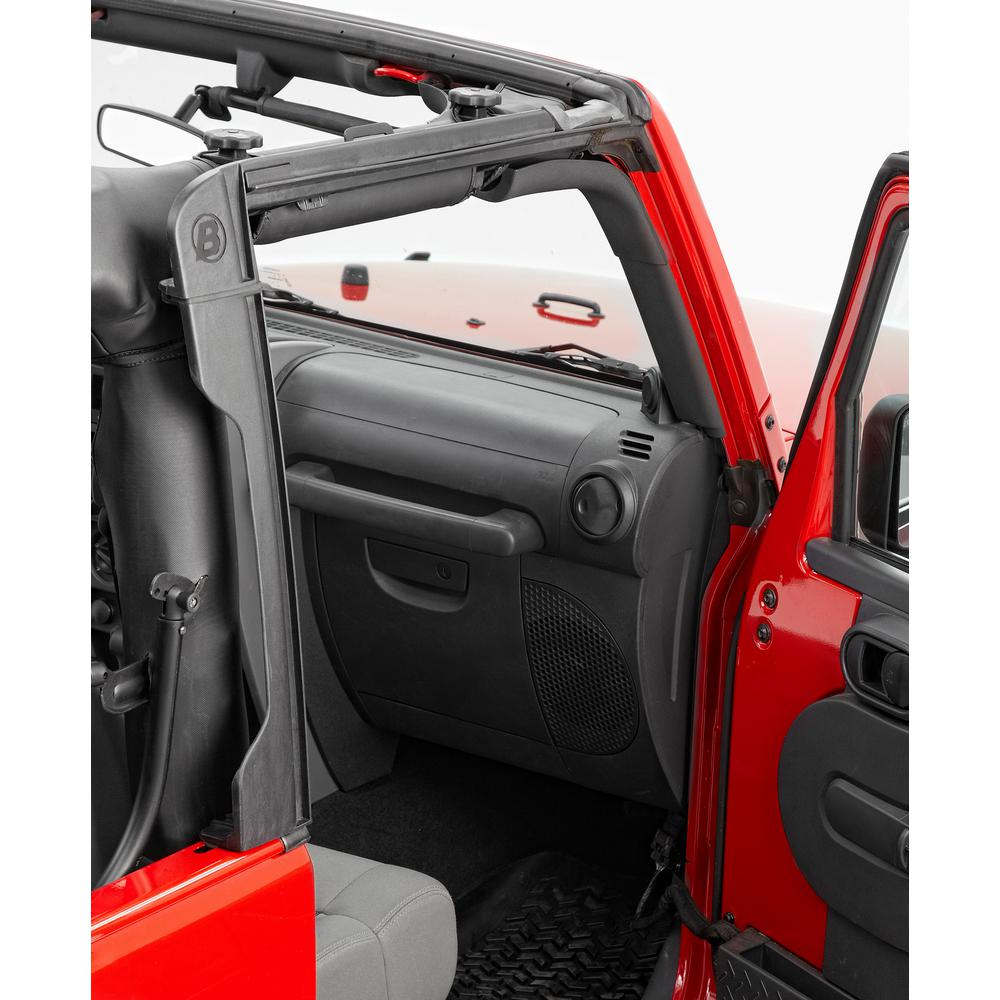 Bestop Door Surrounds for 2007-2018 Wrangler JK 2DR (Set of