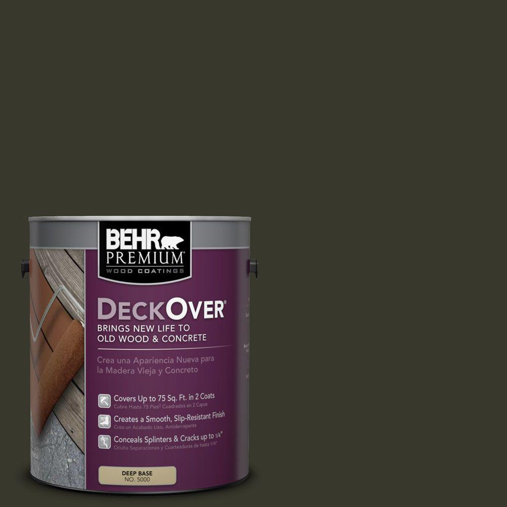 BEHR Premium DeckOver 1 gal. #SC-108 Forest Wood and Concrete Coating