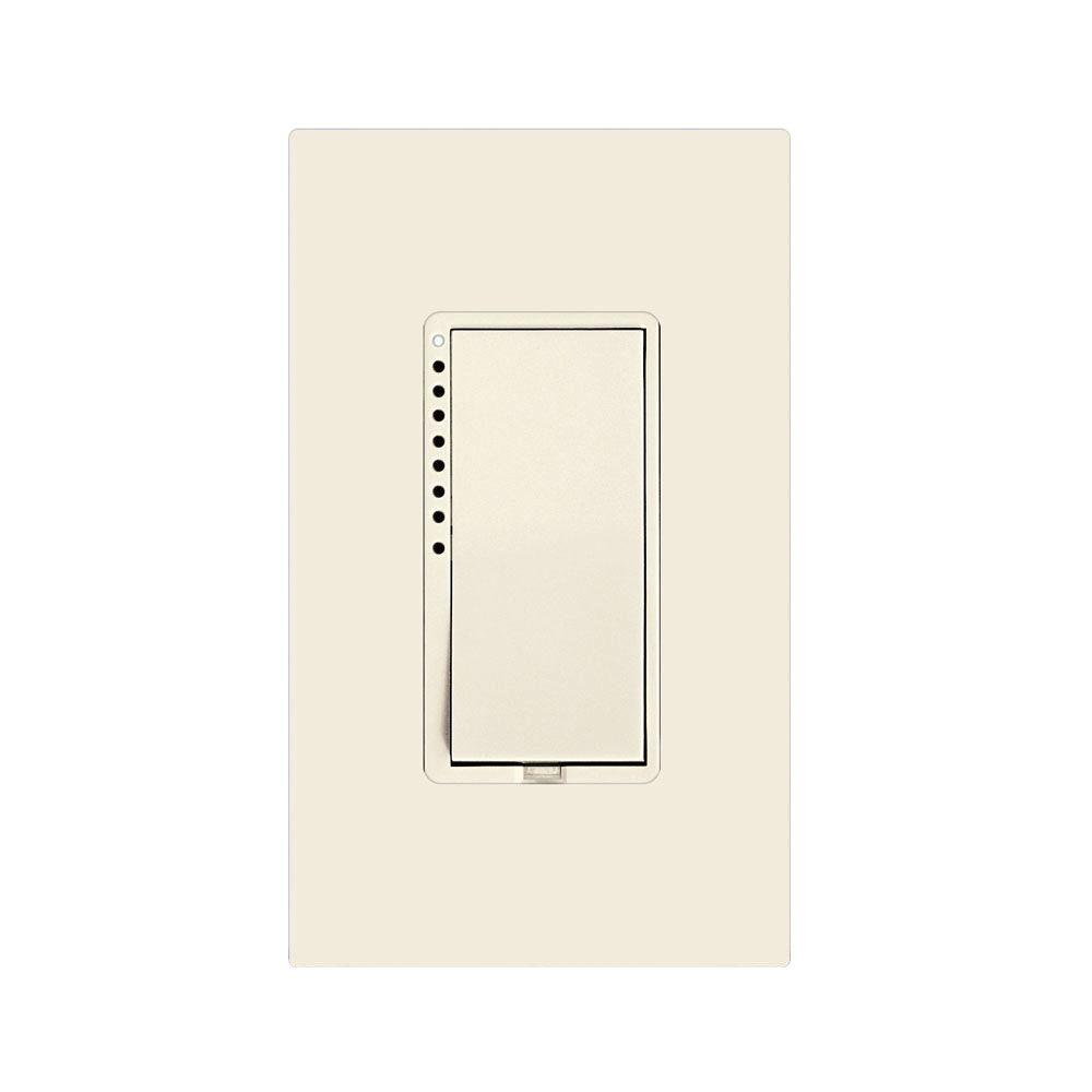 Insteon 25-Watt Multi-Location 2-Wire CFL-LED Dimmer - Light Almond ...