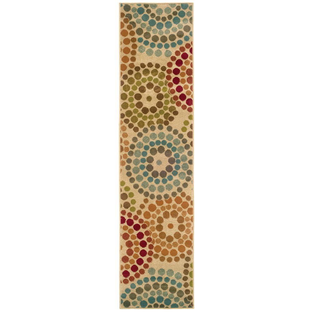 Home decorators collection spiral mosaic tan 1 ft 10 in for Home decorations collections catalog