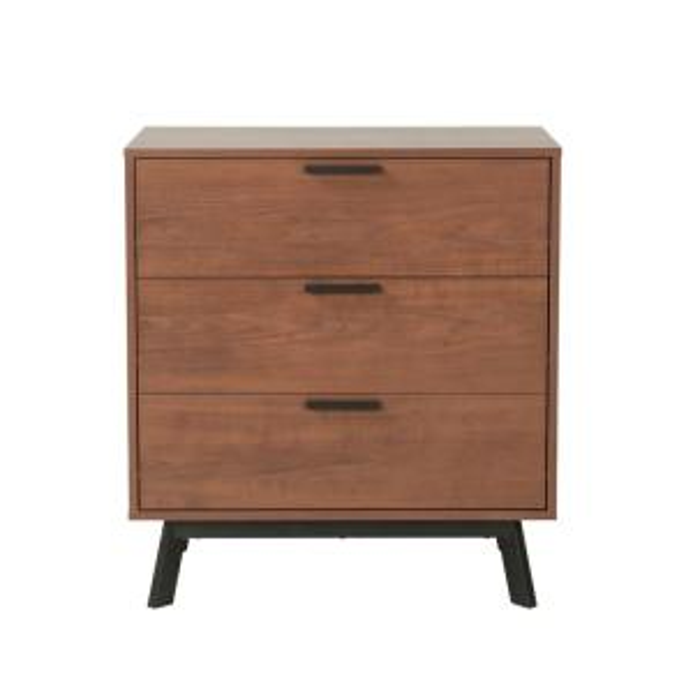 Milan 3-Drawer Vintage Umber Dresser
