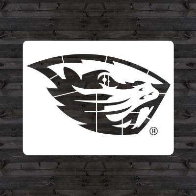 "Oregon State ""Beaver"" Mini Stencil"