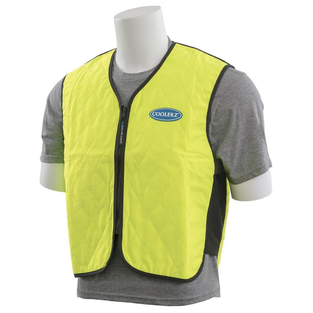 XL C400 Vest in Hi Viz Lime